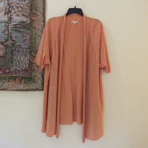 Eileen Fisher Open Front  Long Cardigan size 2X